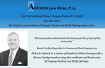 Adcock Law Firm Poster