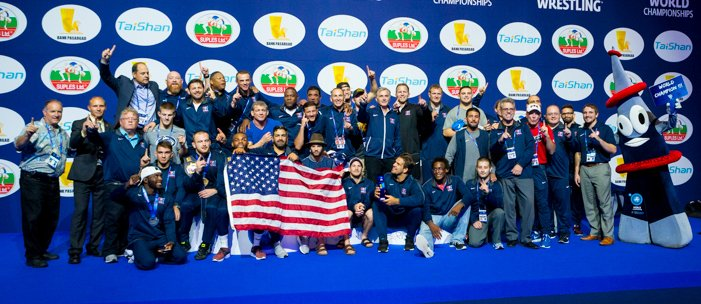 2017 Men's Freestyle World Champions