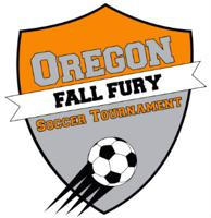 Oregon Soccer Fall Fury logo