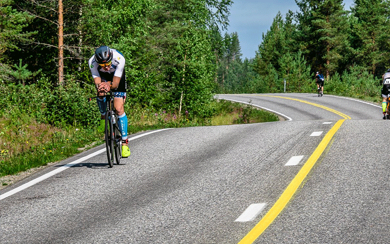 IRONMAN Finland Bike Course