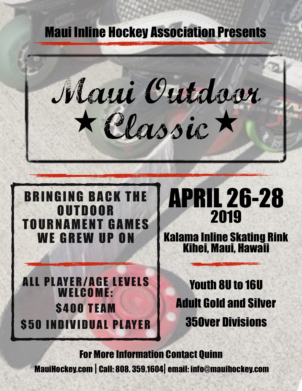 Maui Outdoor Classic Flyer