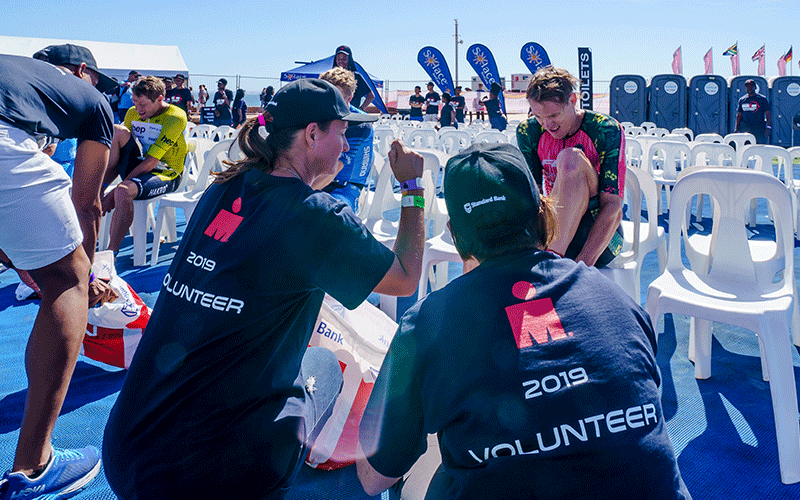 IRONMAN South Africa Volunteers